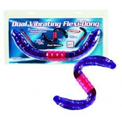 Dual Vibrating Flexi Dong 16-inch