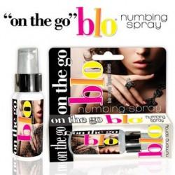 """On the Go """"BLO"""" Numbing Spray"""
