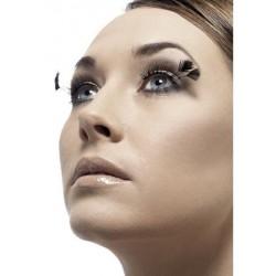 Corner Plume Eyelashes - Black