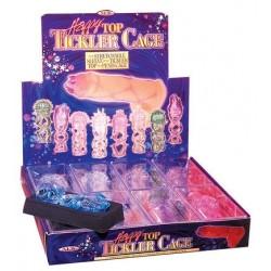 Happy Top Tickler Cage - Display of 8