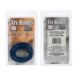 Tri Rings - Blue