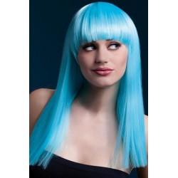 Alexia Wig - Neon Aqua