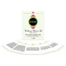 Sensuality Suggestion Cards Bath Set - Honeysuckle