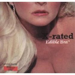 X-Rated Edible Bra - Vanilla