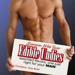 Male Edible Undies - Passion Fruit