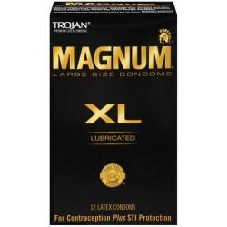 Trojan Magnum X-Large Condoms - 12 Pack TJ64712