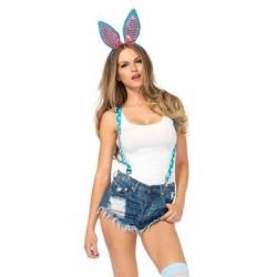 Sparkle Bunny 3 Piece Kit - Turquoise