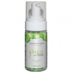 Green Foaming Toy Cleaner Tea Tree Oil - 3.4 Oz. / 100 Ml