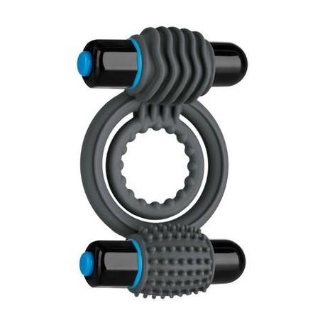 Optimale Vibrating Double C-Ring - Slate