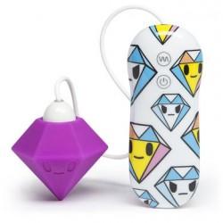 Tokidoki 10 Function Silicone Clitoral Vibrator - Solitaire Purple