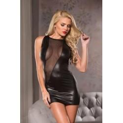 Cut- A- Way Mini- Dress - Black - Small/ Medium