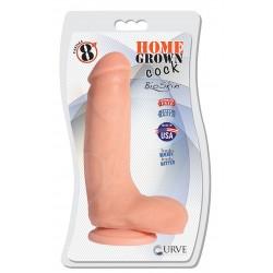 "8"" Home Grown Cock - Vanilla"
