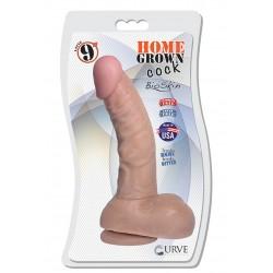 "9"" Home Grown Cock - Latte"