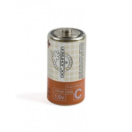 Doc Johnson Batteries - C - 2 Pack