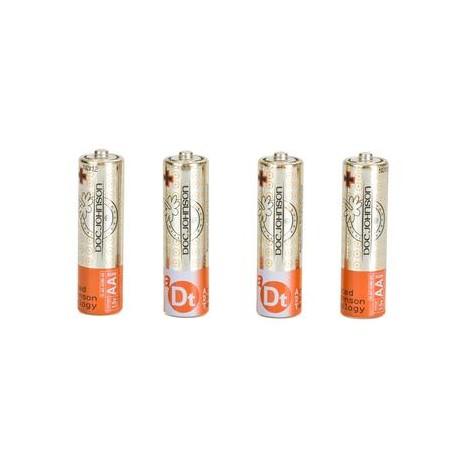Doc Johnson Batteries AA- 4 Pack