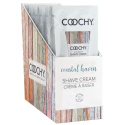 Coochy Shave Cream Coastal Haven Foil 15ml Display 24 Piece