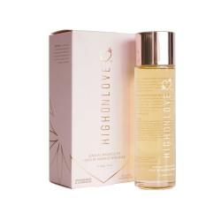 Hemp Sensual Massage Oil 120ml - Strawberries & Champagne
