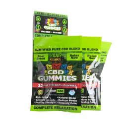 Hemp Bombs Gummies Jumbo 12 Ct Display 180mg