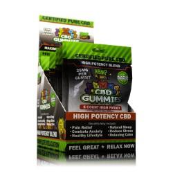 Hemp Bombs Gummies High Potency 12 Ct Display 125mg