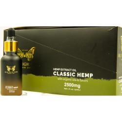 Mile High Cure Classic Hemp Derived Oil 30ml Dropper Bottle 2500mg - 10ct Display