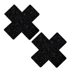 Black Malice Glitter X Factor Nipztix Pasties