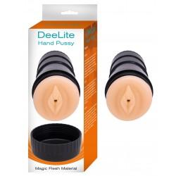 Deelite Hand Pussy Masturbator - Flesh