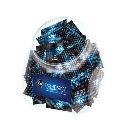 Id Extra Thin Condom Jar - 144 Pieces