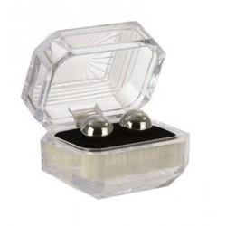 Silver Balls In Presentation Box