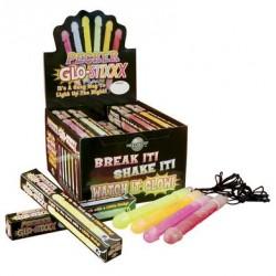 Pecker Lightstick - Display of 24 Assorted Colors