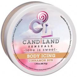 Candiland Sensuals Body Icing - Cinnamon Bun - 1.70 Oz.