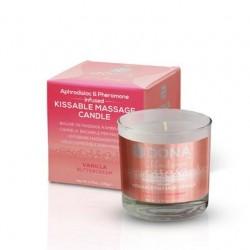 Dona Kissable Massage Candle - Vanilla Buttercream - 4.75 oz.