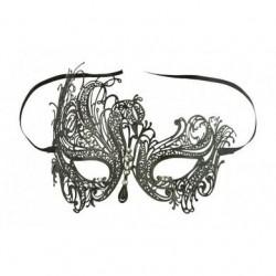 Venetian Black Swan Mask