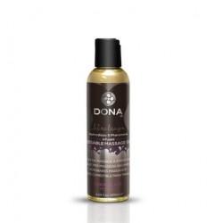 Dona Kissable Massage Oil - Chocolate Mousse - 4.25 Oz.