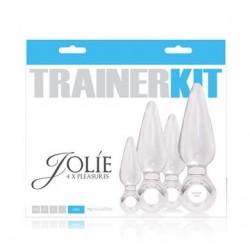 Jolie 4 Piece Trainer Kit - Clear
