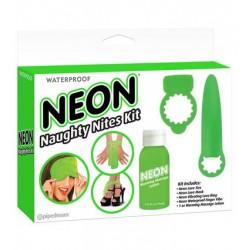 Neon Luv Touch Neon Naughty Nites Kit - Green